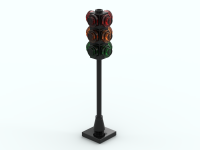LEGO Traffic: trafficlight crossroad